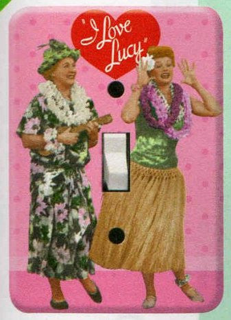 Lucy Switchplate Cover Hawaiin