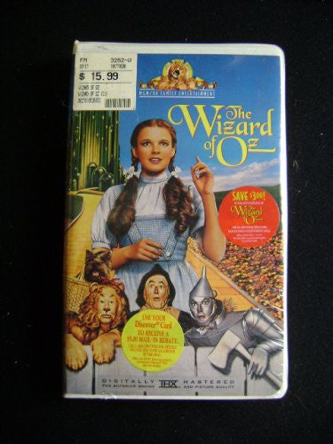 Wizard Of Oz Video From 1996