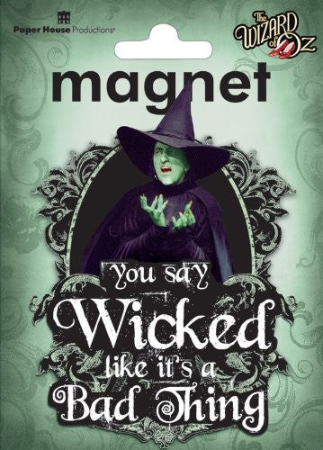 Oz-Wicked Witch 3D Magnet