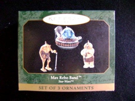 Star Wars Max Rebo Band Hallmark Ornament