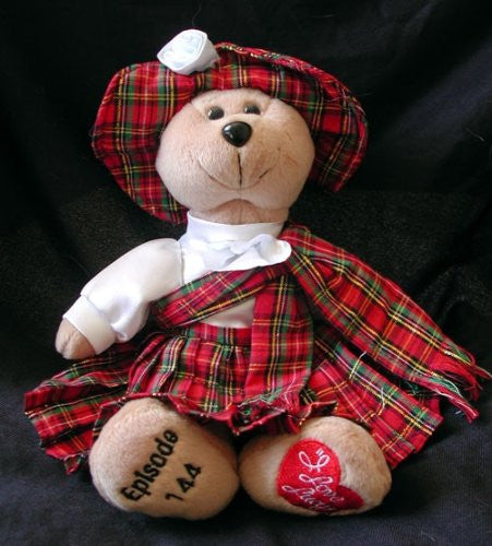 Lucy Goes To Scotland Bear