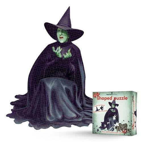 Wizard Of Oz Wicked Witch Die Cut Puzzle