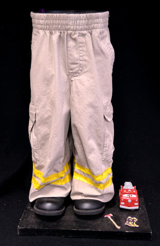 Firefighter Fireman Pot Pant Planter