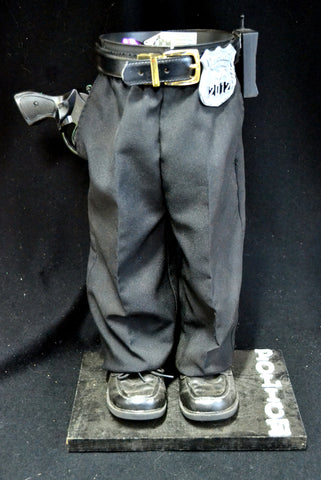 Police Officer Pot Pant Planter