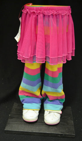 Pink Skirt and Multicolored Pants Pot Pant Planter
