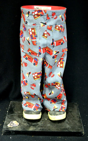Firefighter Fireman Print Pot Pant Planter