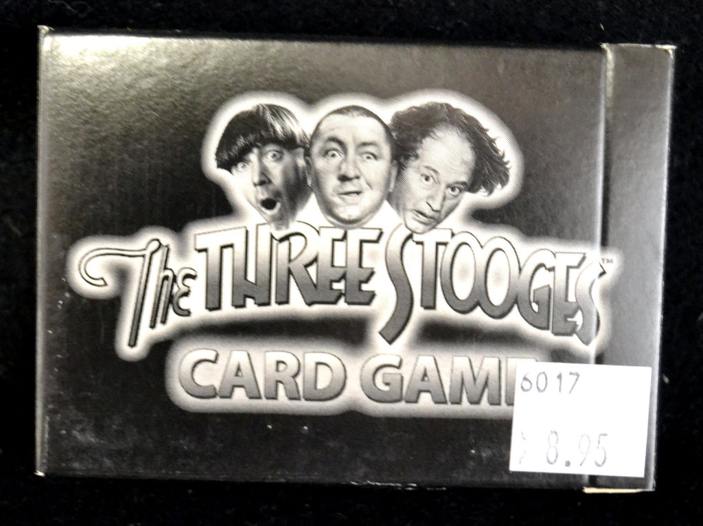 Three Stooges Card Game