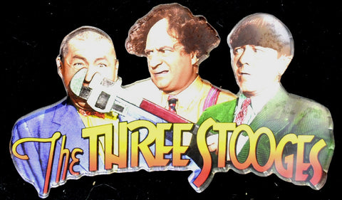 Three Stooges Die Cut Magnet