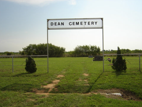 Dean Cemetery Clay County, Texas Headstone Photos on CD