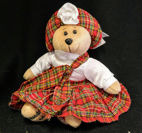I Love Lucy Goes To Scotland Bear