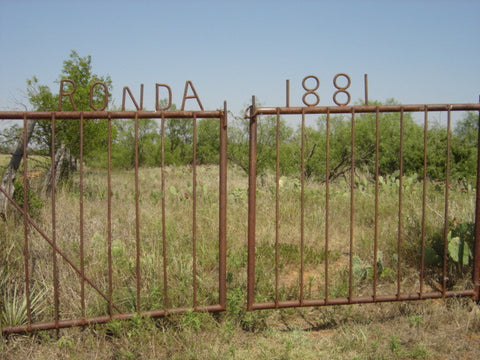 Ronda Cemetery 10 miles from Harrold, Texas Headstone Photos on CD