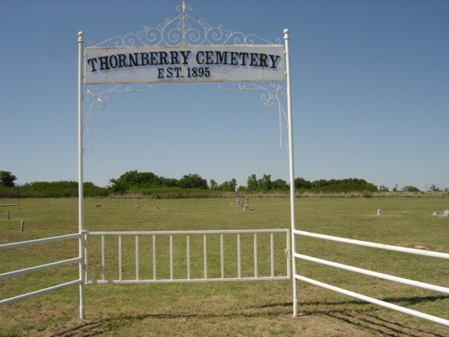 Thornberry, Texas Cemetery Headstone Photos on CD