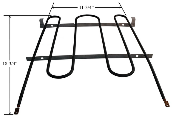 Model TC-987: Whirlpool 326795 Equivalent Range/Oven Broil Replacement Element, 3,500W @ 250V