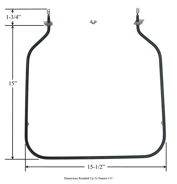 Model TC-10871408: House of Webster 10871408 Equivalent Range/Oven Bake (Bottom) Replacement Element, 2,100W @ 240V