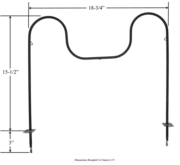 Model TC-74003020: Whirlpool-Maytag-Jenn-Air WP74003020 Equivalent Range/Oven Bake Replacement Element, 2,100/2,800W @ 208/240V