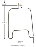 Model TC-5820: Frigidaire 5309950887 Equivalent Range/Oven Bake Replacement Element, 3,000 / 2,250 W @ 240 / 208 V