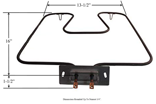 Model TC-44X5043: GE WB44X5043 Equivalent Range/Oven Bake Replacement Element, 3,000 W @ 250 V