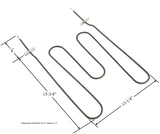 Model TC-2837: Kenmore 22239 Range/Oven Broil Replacement Element, 2,800W/2,100W @ 240V/208V