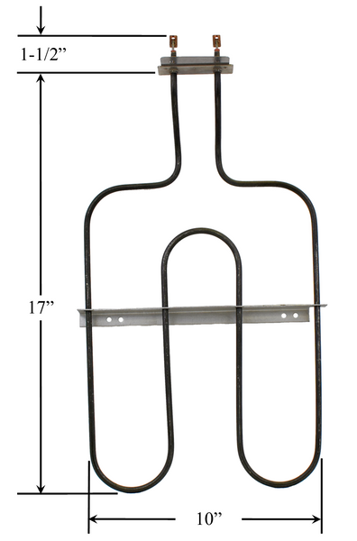 Model TC-2885: Enterprise 150514 Equivalent Range/Oven Broil Replacement Element, 1,500W @ 120V