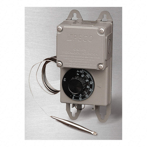 Peco TRF115-005 0°F to 120°F SPDT Thermostat With NEMA 4X Moisture-Resistant Enclosure