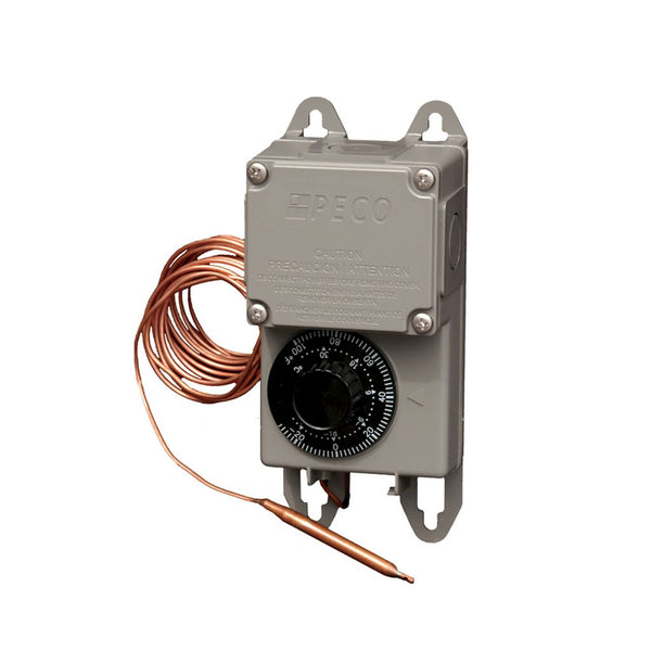 Peco TRF115-007 -30°F to 100°F SPDT Thermostat With NEMA 4X Moisture-Resistant Enclosure