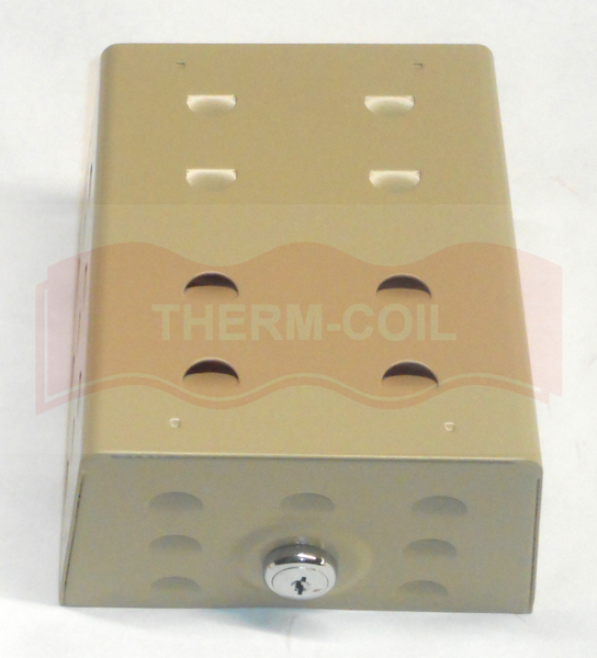 TPI TG1B Metal Thermostat Guard - Same As Supco BTG-KMP, Robertshaw 190-063, Mars 70208, White-Rodgers F29-0234, Wagner TG-KM