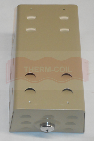 "TPI 2G2B Metal Thermostat Guard 6.25"" x 3.625"" x 3.25"""