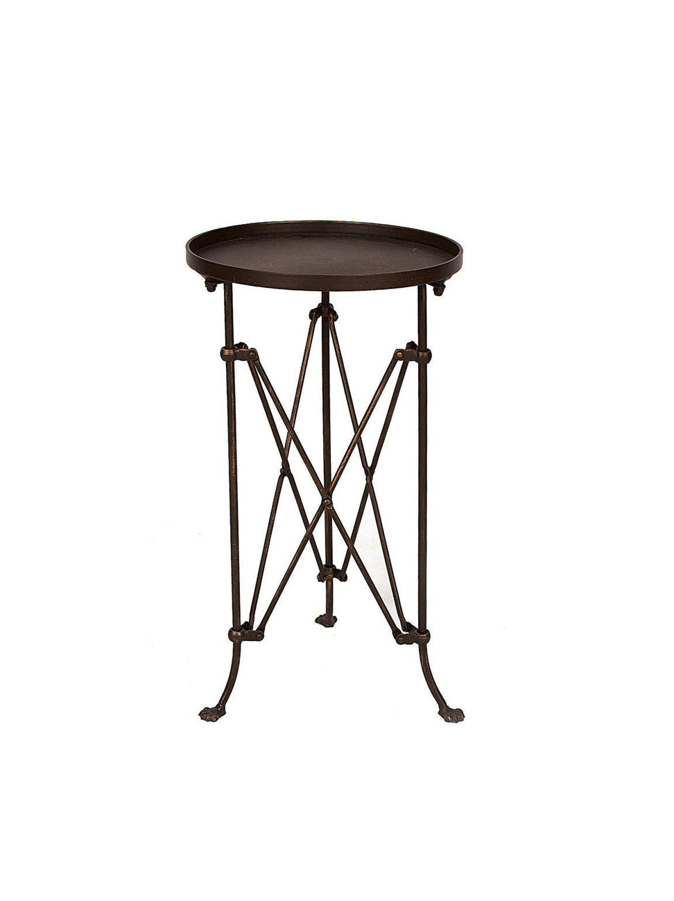 Bronze Metal Table