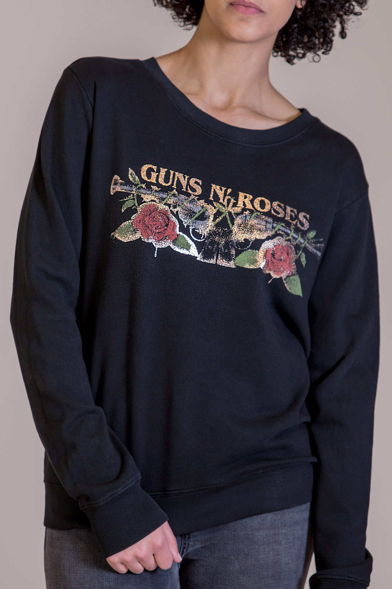 Guns N Roses Rose Gold Sweatshirt