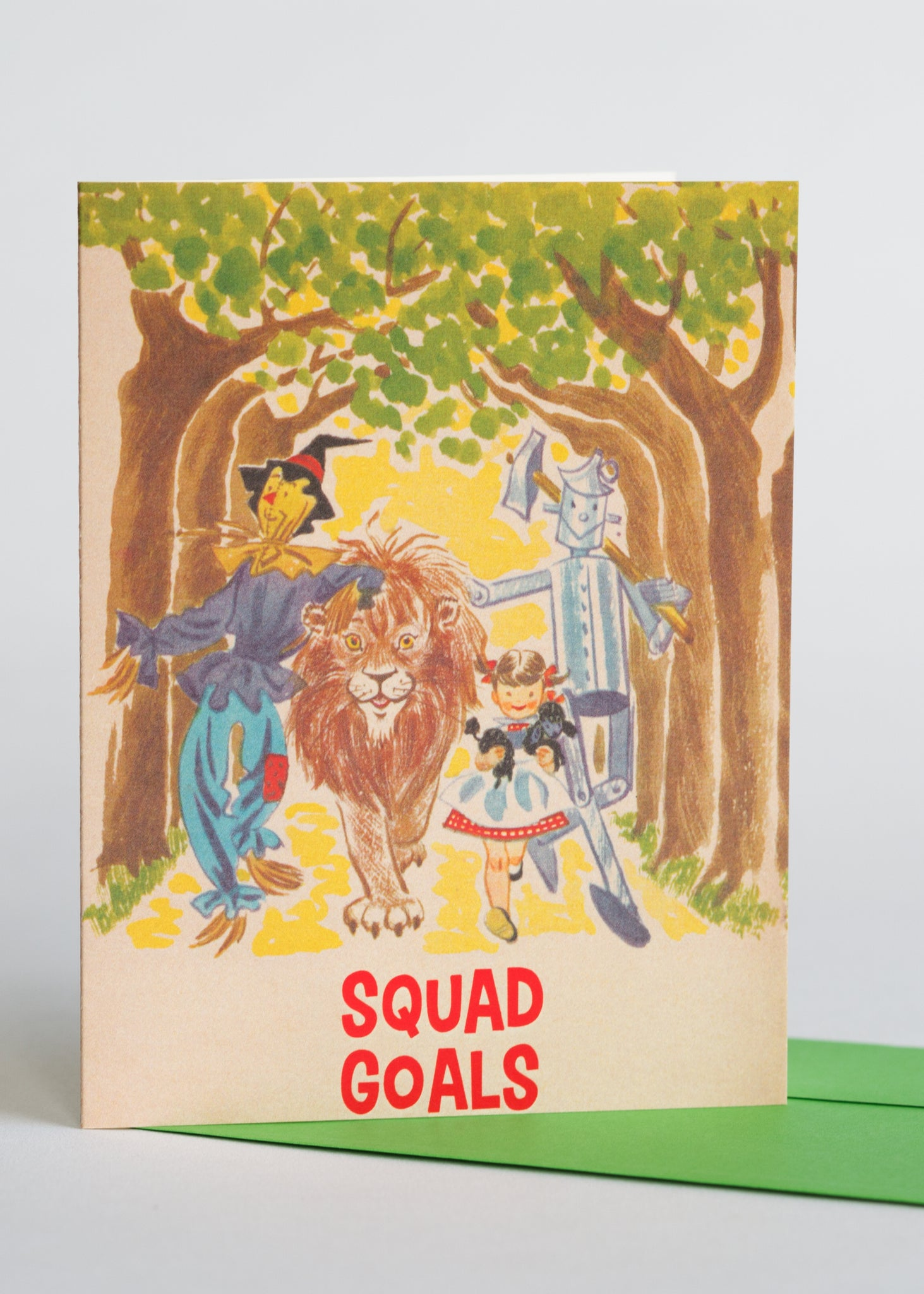 Squad Goals Greeting Card
