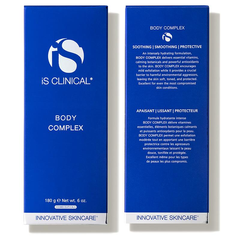 iS Clinical Body Complex Box Front and Back