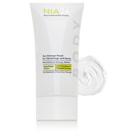 NIA24 Sun Damage Repair Decolletage & Hands - 5 oz - $60.00 - With Swatch
