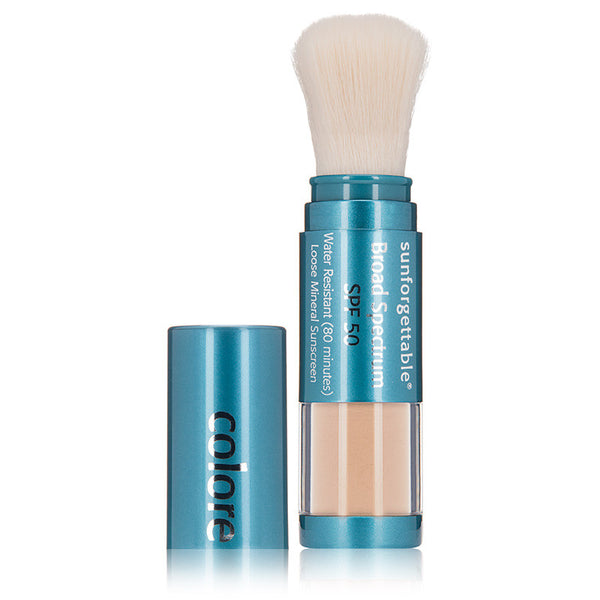 Colorescience Sunforgettable Brush-On Sunscreen SPF 50 - 6 g - $64.00