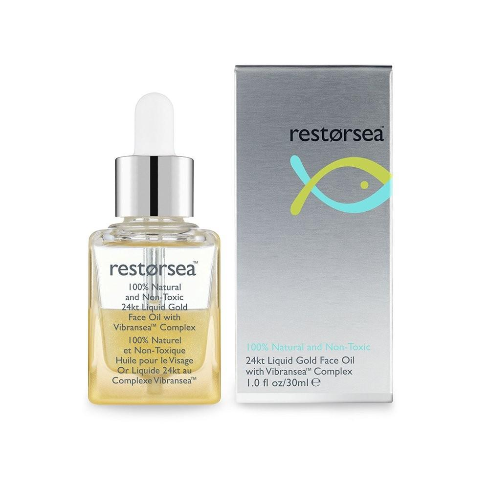 Restorsea 24kt Liquid Gold Face Oil - 1 oz - $150.00 - With Packaging