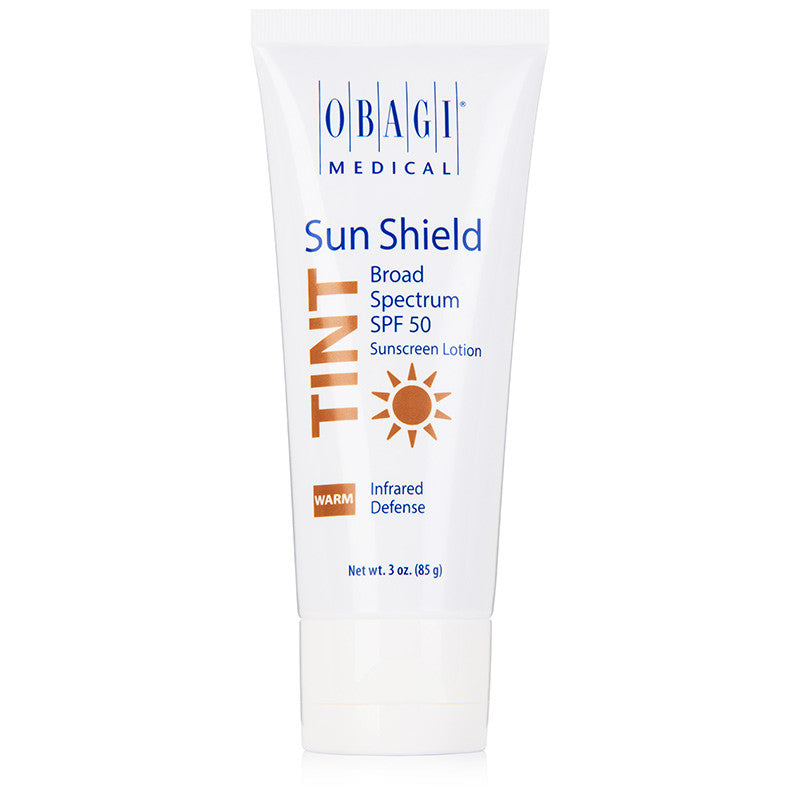 Obagi Sun Shield Tinted Broad Spectrum SPF 50 Sunscreen Lotion - Warm