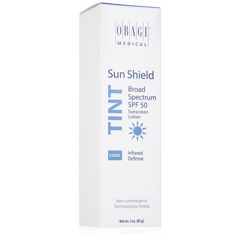 Obagi Sun Shield Tinted Broad Spectrum SPF 50 Sunscreen Lotion - Cool