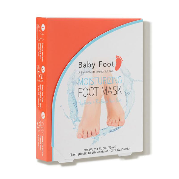 Baby Foot Moisturizing Mask $15