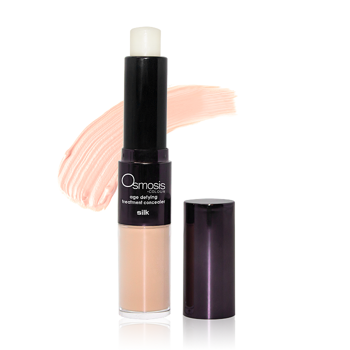 Osmosis Age Defying Treatment Concealer - $38.00 - Applicator Wand and Swatch Silk
