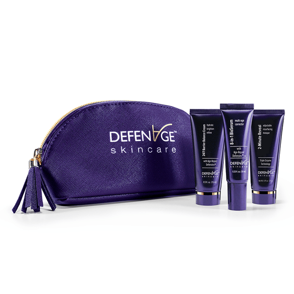 Defenage Skincare Fly Kit