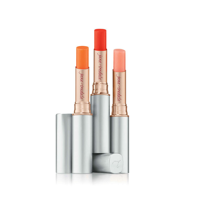 Jane Iredale Just Kissed Lip and Cheek Stain Group of 3