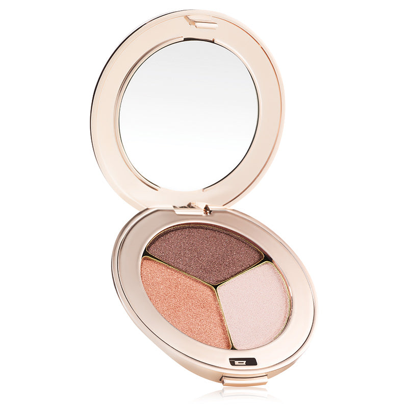 Jane Iredale PurePressed Eye Shadow Triple - 2.8 g - $30.00 - Pink Quartz