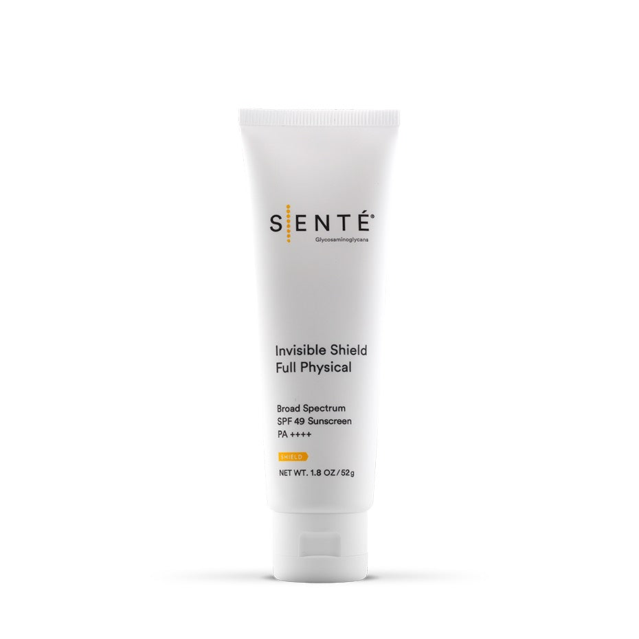 SENTÉ Invisible Shield Full Physical SPF 49 Sunscreen - Nontinted