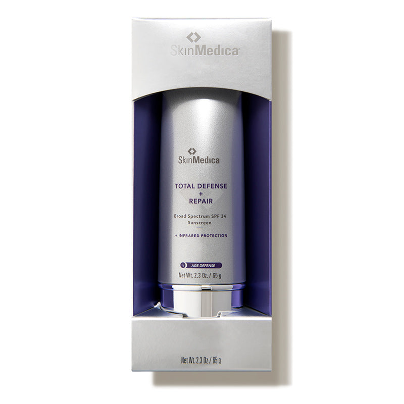 SkinMedica Total Defense + Repair SPF 34 - 2.3 oz - $68.00 Packaging