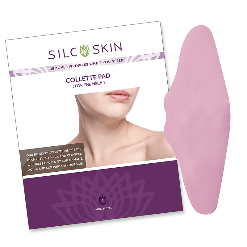 SilcSkin Collette Pad (For the Neck) $28.95 - Removes Winkles While You Sleep