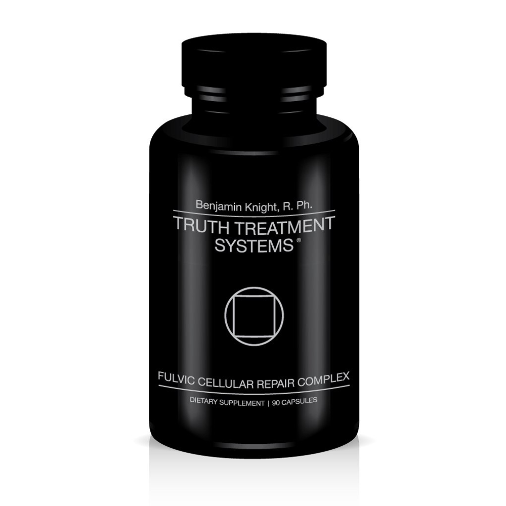 Truth Treatment Systems Fulvic Cellular Repair Complex Bottle