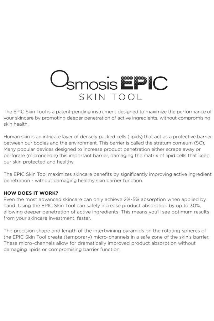 Osmosis MD EPIC Skin Tool - Harben House