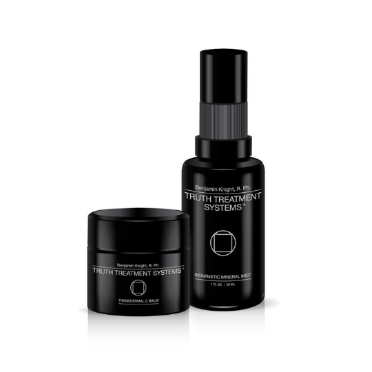 Truth Treatment Systems - Transdermal Vitamin C Balm Essential Duo - Harben House