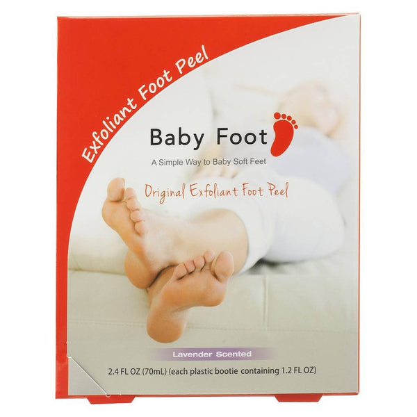 Baby Foot Exfoliant Foot Peel - $25.00 - 2 booties 2.4 oz each