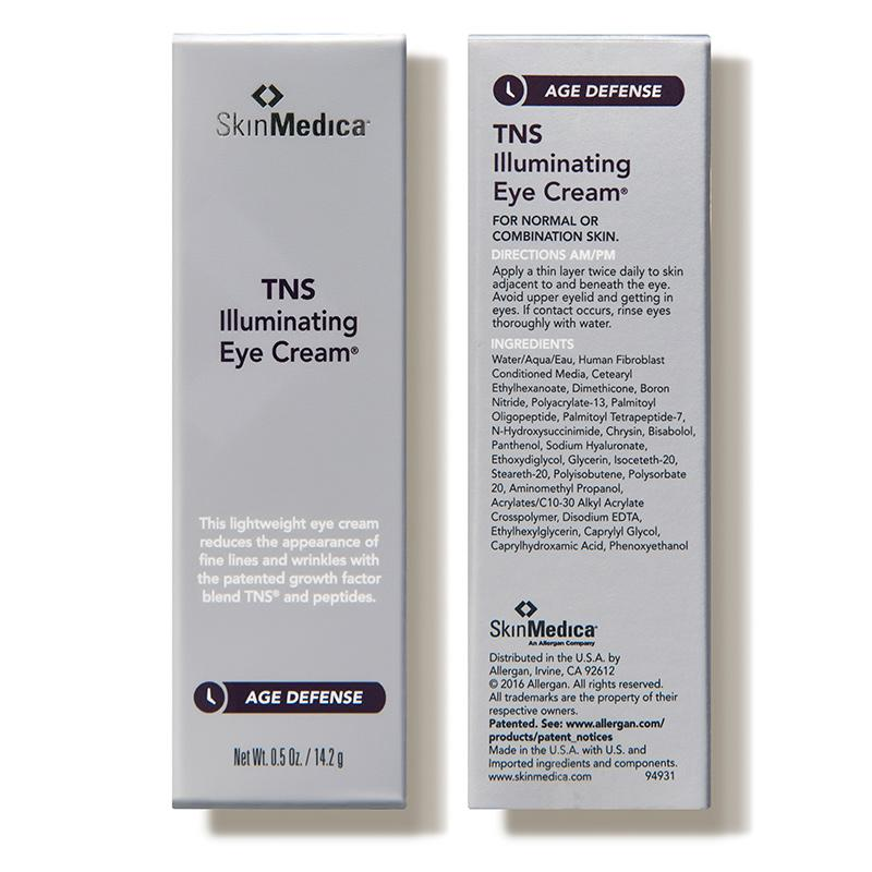 SkinMedica TNS Illuminating Eye Cream - 0.5 oz - $92.00 In Packaging