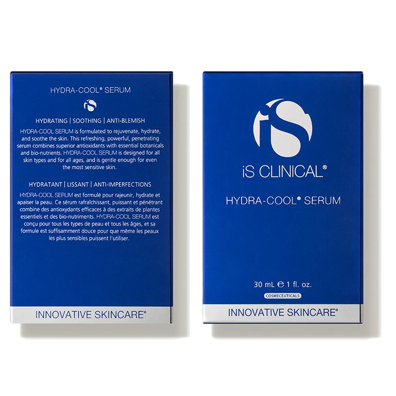 iS Clinical Hydra Cool Serum Box Front and Back